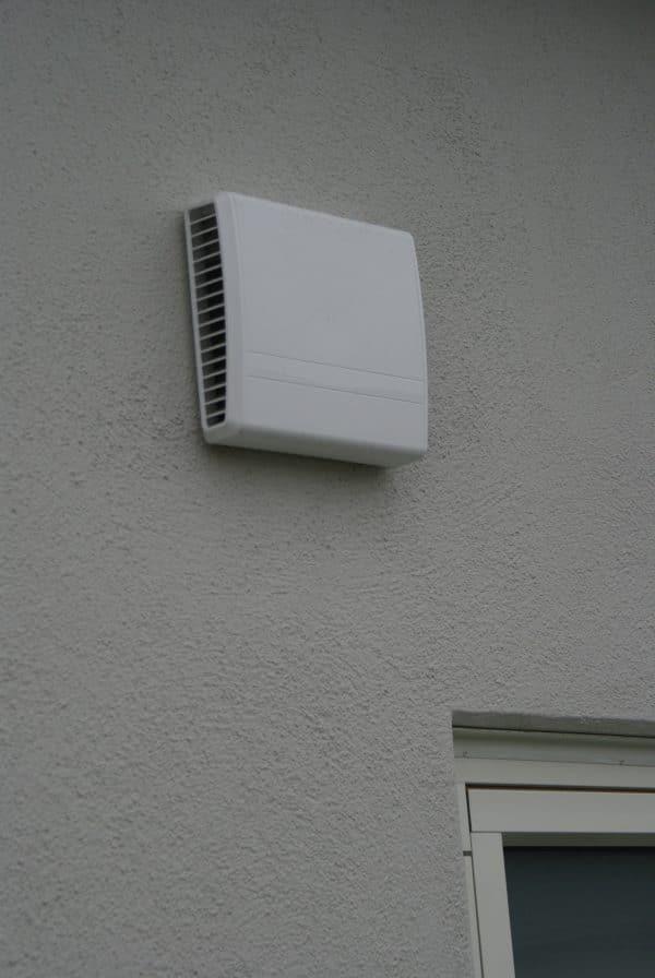 LUNOS Plast Dubbel-K Ventilationsgaller