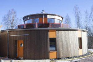 Villa Circuitus har decentraliserad ventilation från Energy Building