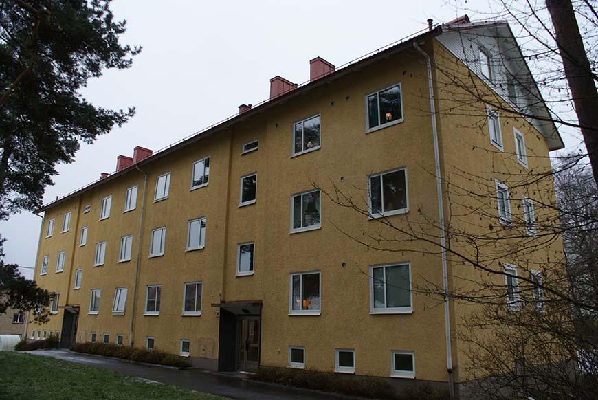 Referensobjekt, ROT renovering AB Bostäder Borås och Energy Building