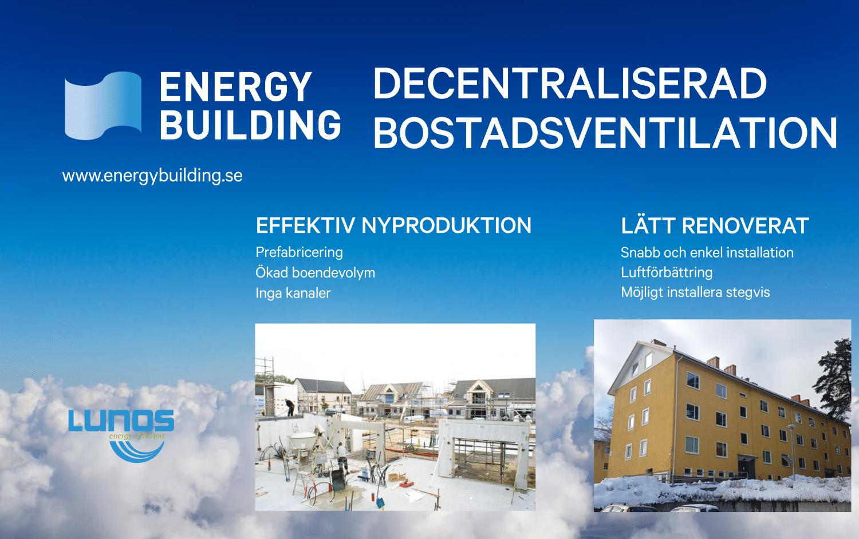 Energy Building på Nordbygg 2018