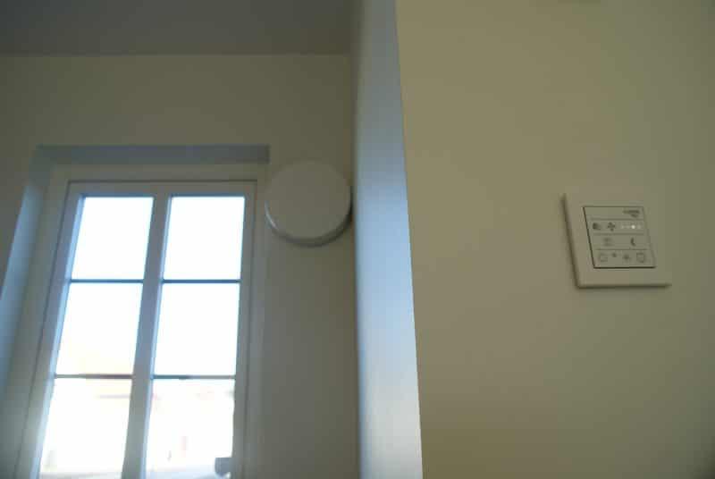 LUNOS Smart Comfort Styrpanel decentraliserad ventilation