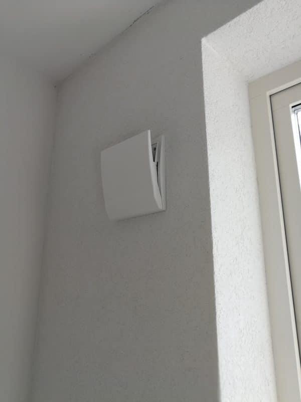 LUNOS Komfort innerkåpa, decentraliserad ventilation