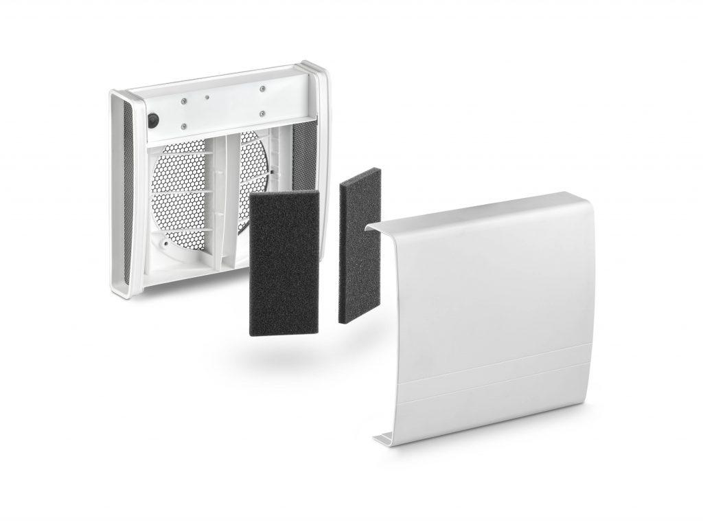 LUNOS EGO decentraliserad ventilation