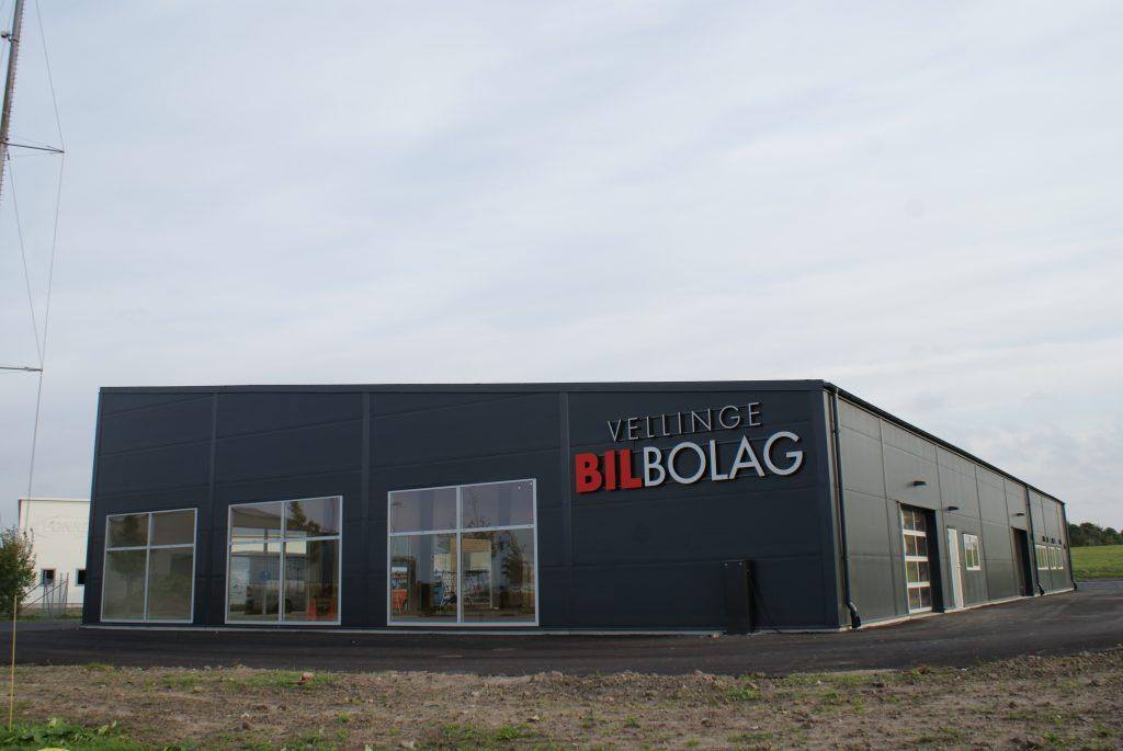 Vellinge Bilbolag och Energy Building decentraliserad ventilation