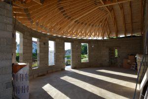 Villa Skönborg med LUNOS ventilation från Energy Building