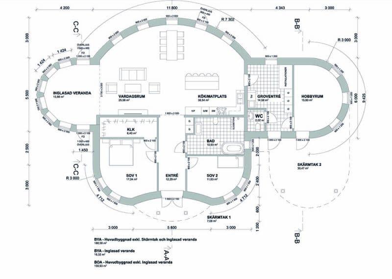 Villa Skönborg - decentraliserad ventilation
