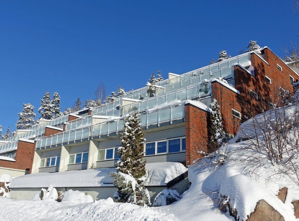 Hus med balanserad ventilation från Lavenergisystemer
