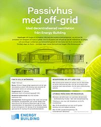 Energy Building - MILJÖ OCH EKONOMI