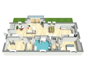 Effektiv nyproduktion med Lunos lösning i bostäderna