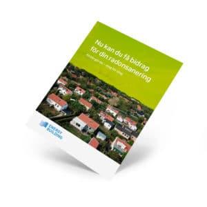 Hur untnyttjas radonbidraget för att minska radonhalten i bostaden