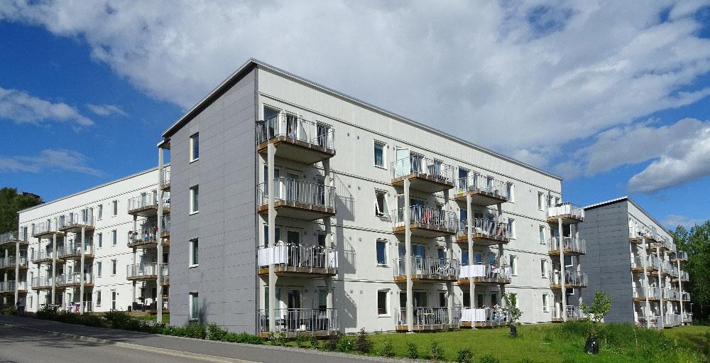Decentraliserad ventilation i BoKloks projekt Solhöjden