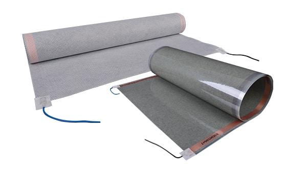 E-NERGY CARBON värme mattor på 0,4 mm för golv, vägg och tak