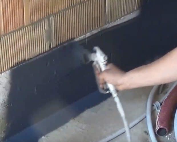 Proclima spraybar luft och ångspärr med AEROSANA VISCONN