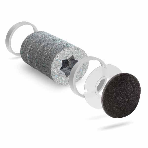 Tilluftsventil med bra ljudabsorption som friskluftsventil