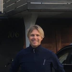 Lars-Göran Ehn förbättrade ventilationen i sitt hus