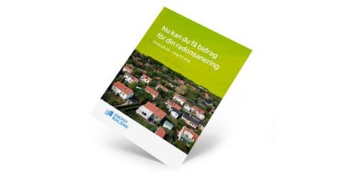 Hur untnyttjas radonbidraget fÃr att minska radonhalten i bostaden