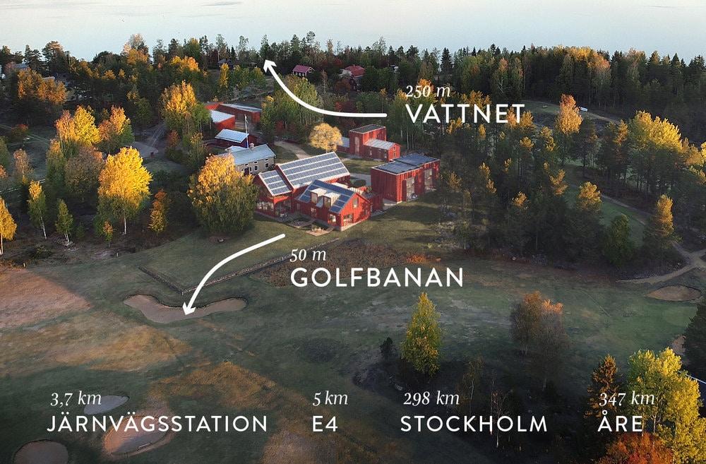 Stort miljöfokus med hållbar ventilation, solceller, trä, cellulosa isolering