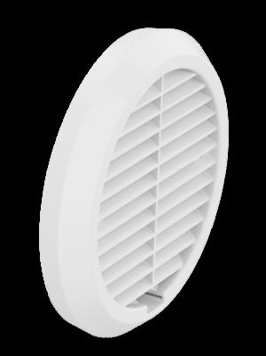 Yttergaller för 160 mm rör decentraliserad ventilation utanpåliggande, RAL 9016