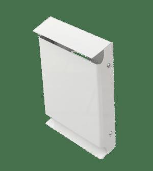 Standardkåpa för ventilation särskilt lämpad för decentraliserad ventilation RAL 9016