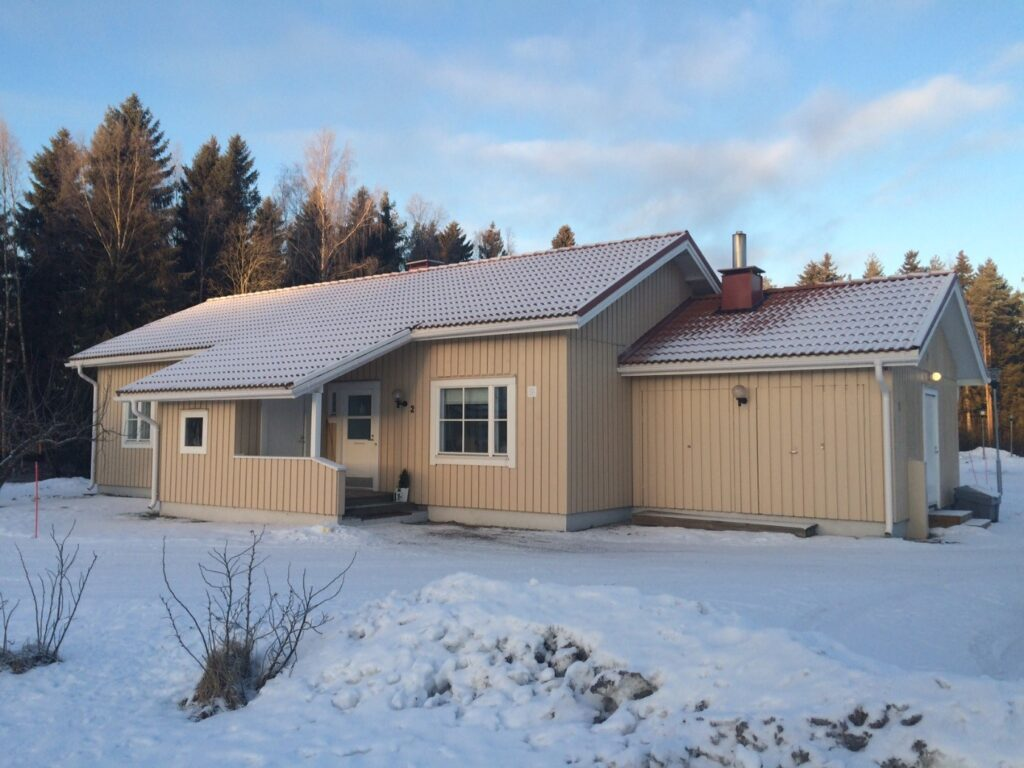 Hus förbättrat med decentraliserad ventilation
