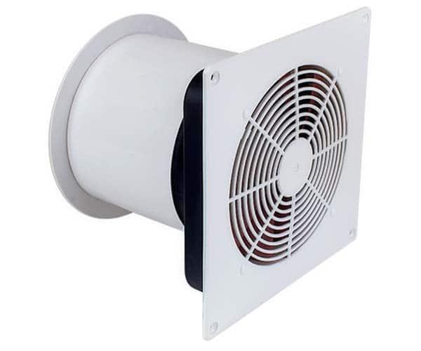Värmeförflyttare genom innervägg för luftförflyttning a varm eller kall luft